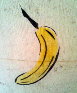 Bananen-Graffiti