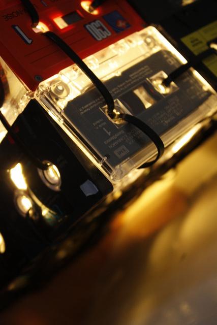 DIY - Kassettenlampe selbst gemacht