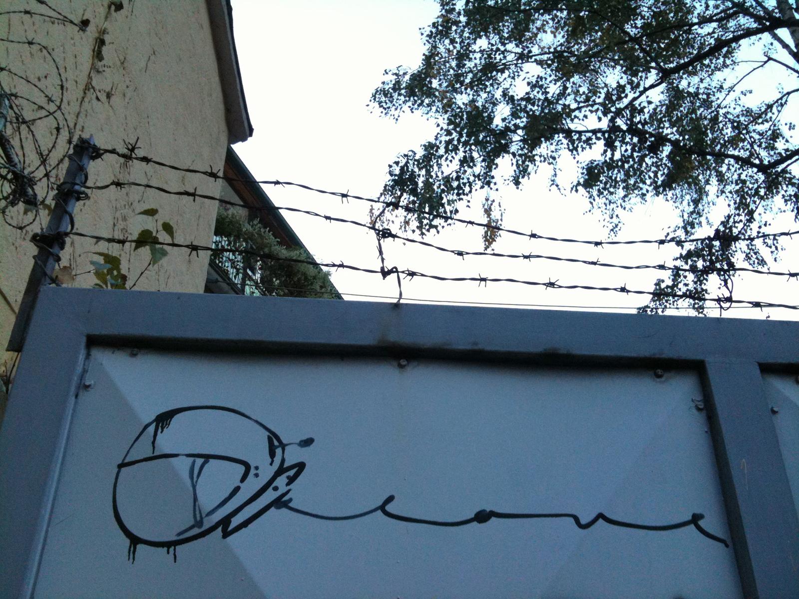 Streetart in Frankfurt - Astronaut