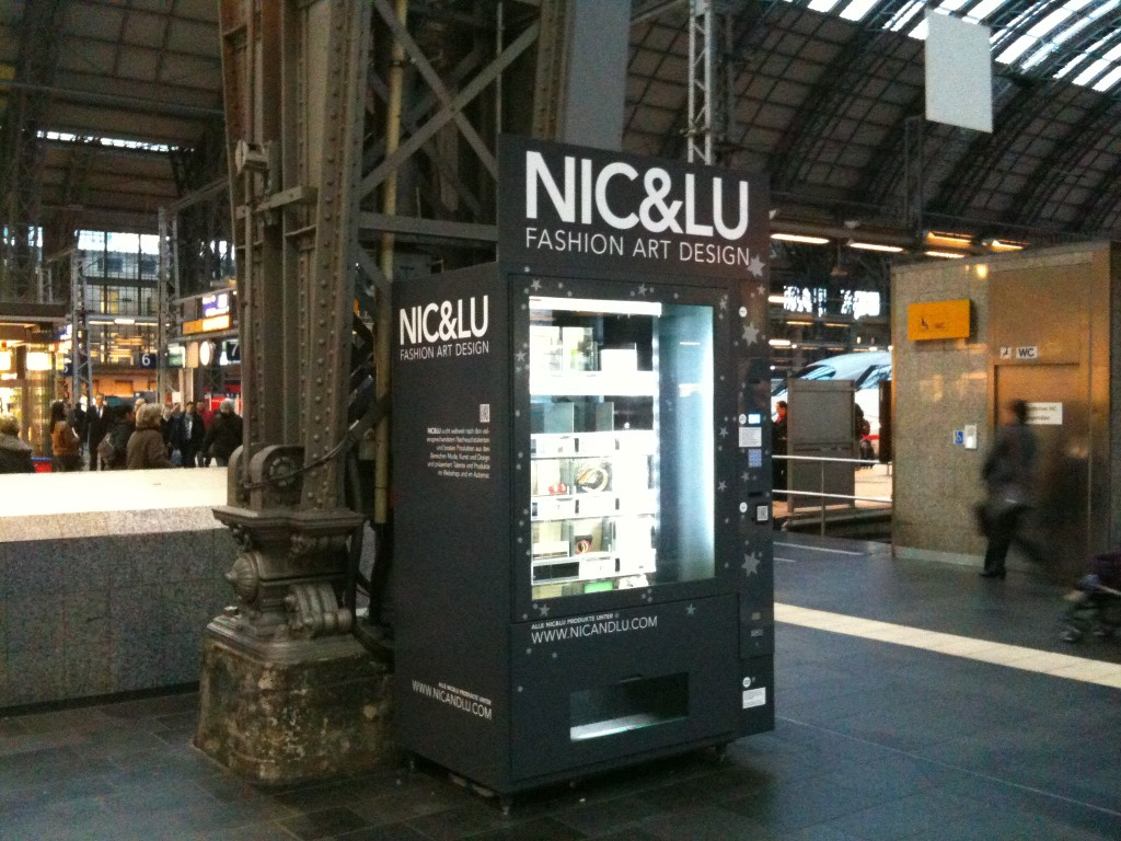 Fashion, Art und Design im Automat: Nic & Lu