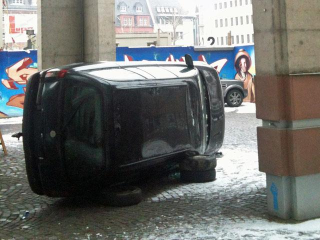 Autowracks in Frankfurt am Main