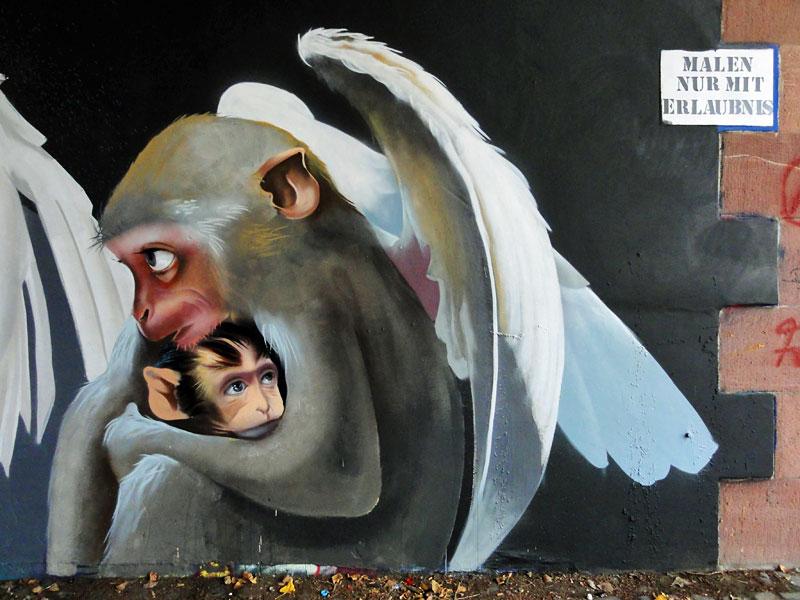 Streetart in Frankfurt von Andreas von Chrzanowski