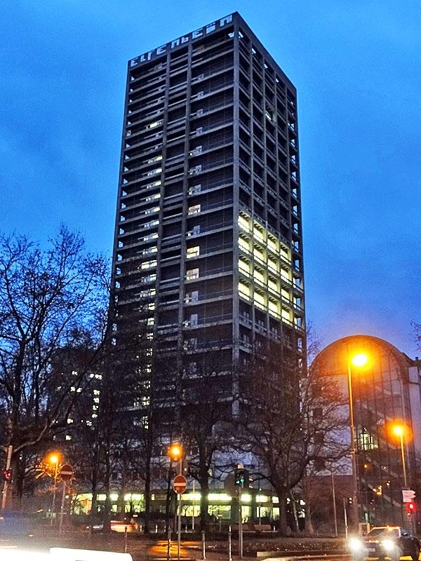AfE-Turm / Uni-Turm in Frankfurt