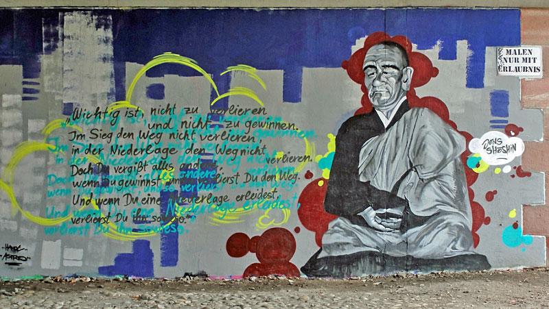 Jens-Shoshin-Graffiti-Friedensbrücke-Frankfurt