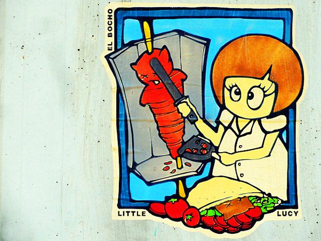 el-bocho-streetart-frankfurt-little-lucy-doener-kebap-cat