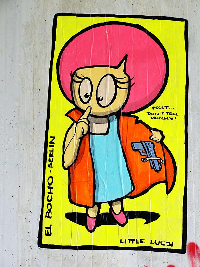 el-bocho-streetart-frankfurt-little-lucy-dont-tell-mummy