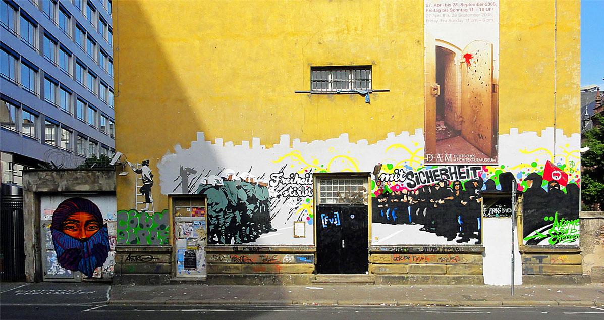freiheit-stirbt-mit-sicherheit-graffiti-klapperfeld-faites-votre-jeu-stretart-frankfurt-am-main