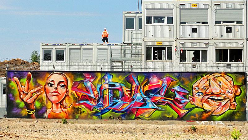 voir graffiti ezb frankfurt 1