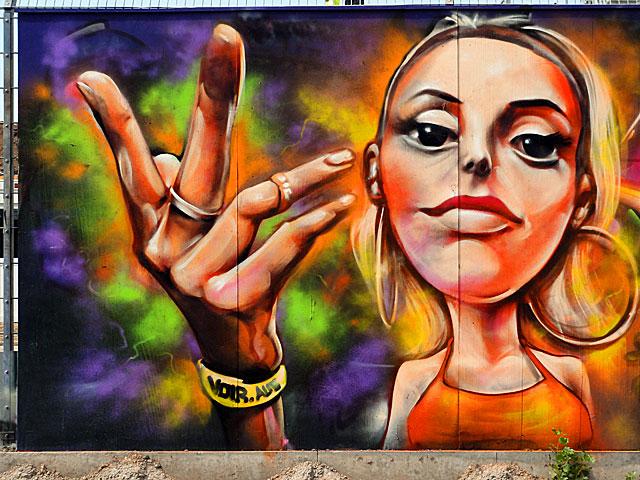 voir graffiti ezb frankfurt 2