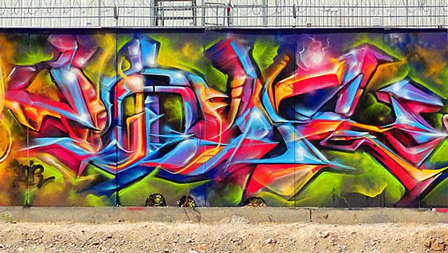 voir graffiti ezb frankfurt 3