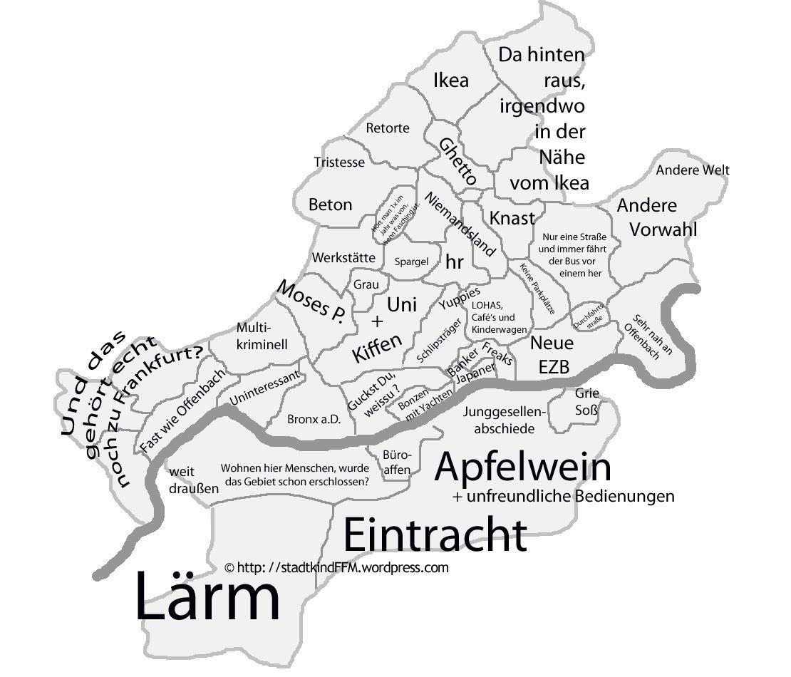 Frankfurt Aus Der Sicht Eines Frankfurters Stadtkind