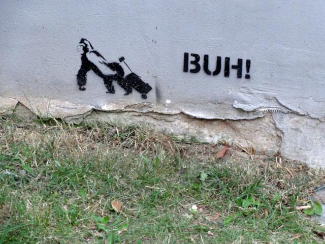 BUH! gorilla streetart frankfurt 02