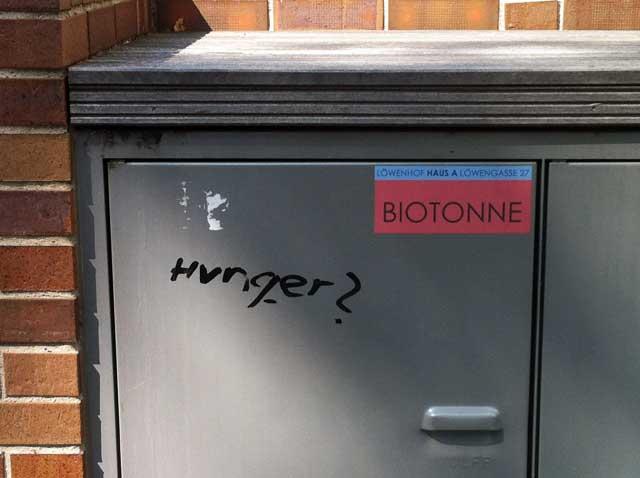 hunger-biotonne