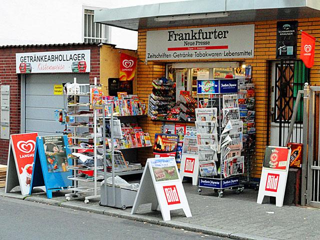 Kiosk in Frankfurt - Bornheim, Wiesenstraße