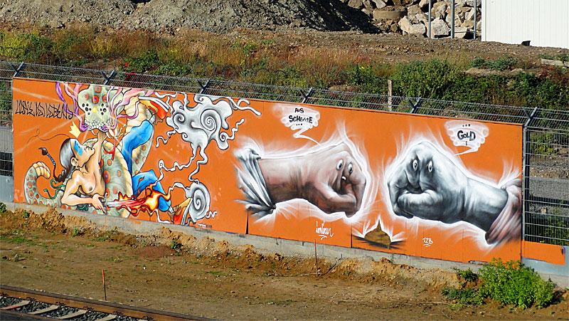erick-indian-graffiti-frankfurt-ezb