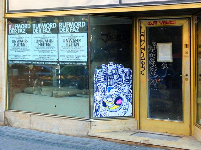 pyc-dr.chab-creature-ink-paste-up-streetart-frankfurt-bahnhofsviertel-rufmord-der-faz