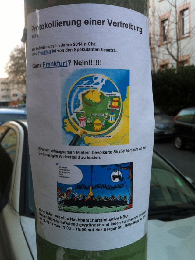 ganz frankfurt ist von spekulanten besetzt