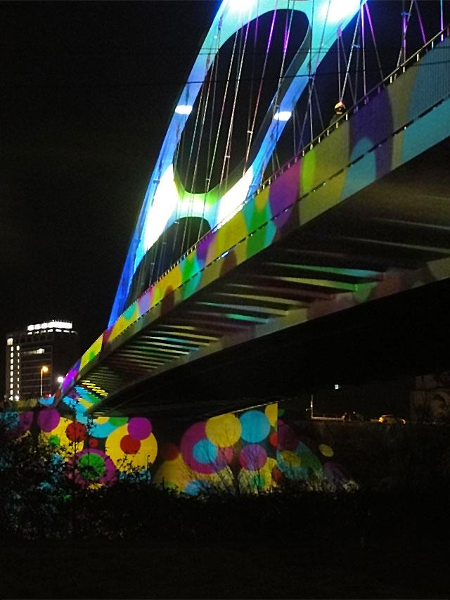 luminale-2014-osthafenbrücke-illumination