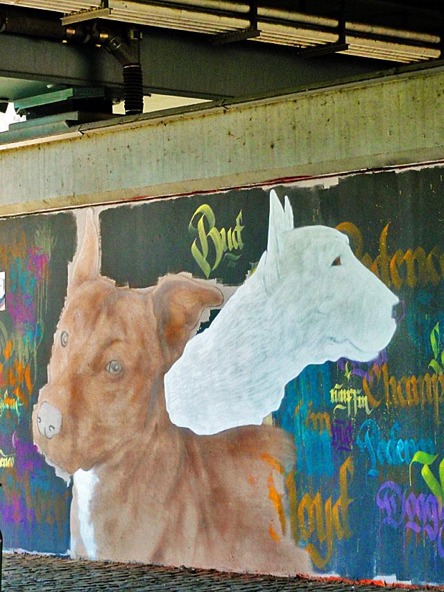 FRANKFURT-GRAFFITI-hunde-friedensbrücke-foto-12