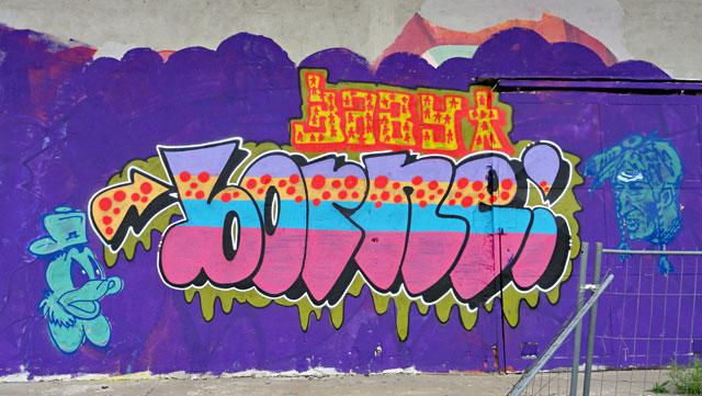 GRAFFITI-OFFENBACH-BORNE