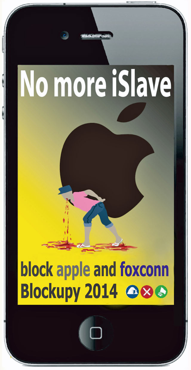 no-more-islave-frankfurt-apple-store-protest