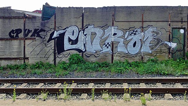 GRAFFITI-FRANKFURT-OSTEND-HAFEN-ENROB-BORNE-CPUK