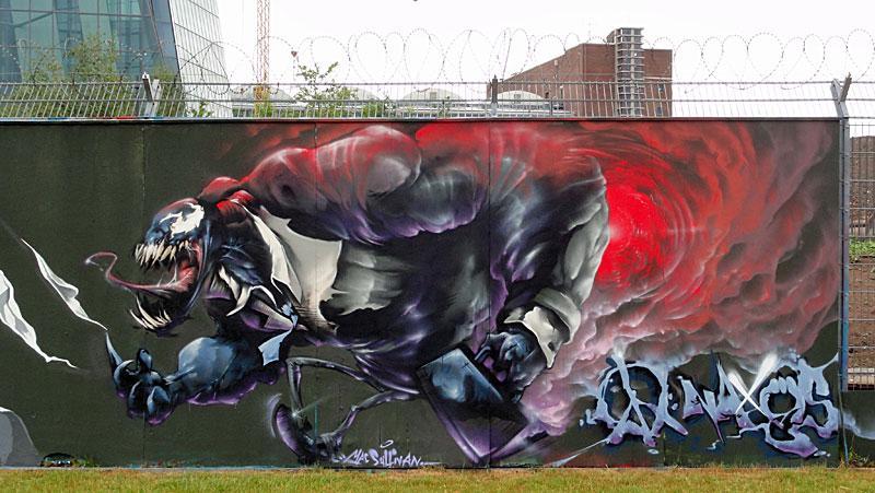 Graffiti by MAC SULLIVAN