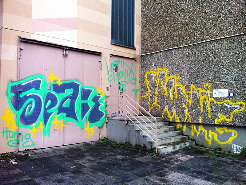 Farbenfroh: SPAK und HONIG-Graffiti