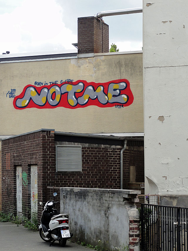 Graffiti in Offenbach - NOTME
