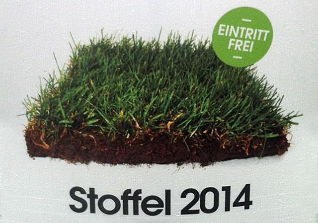 Plakatausschnitt von STOFFEL 2014
