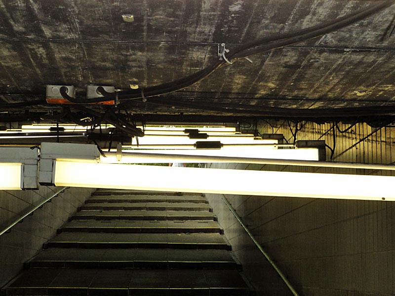 Foto der Unterführung an der U-Bahn-Station Miquel- / Adickesallee 4