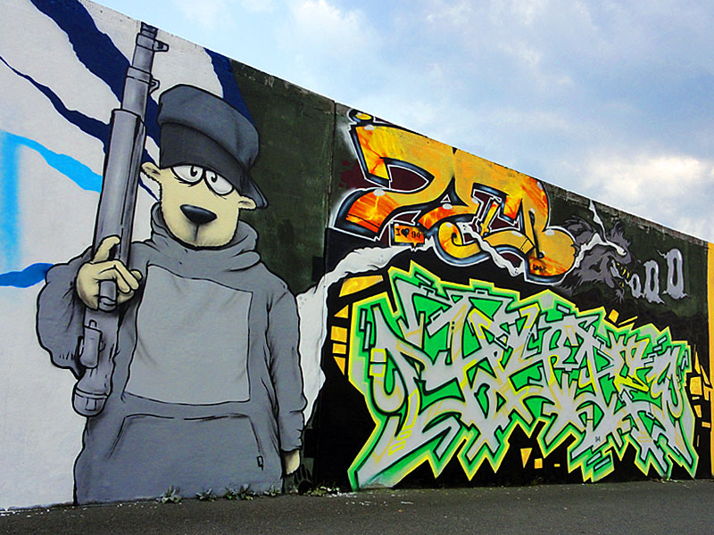 Graffiti in Frankfurt: 20years94 - Riederhöfe Hall Of Fame