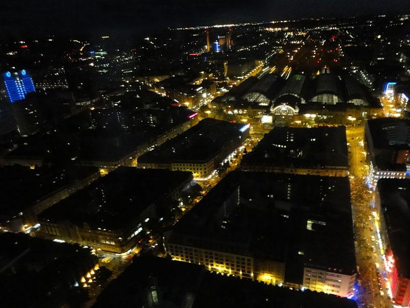 Die Bahnhofsviertelnacht am 21. August 2014 in Frankfurt.
