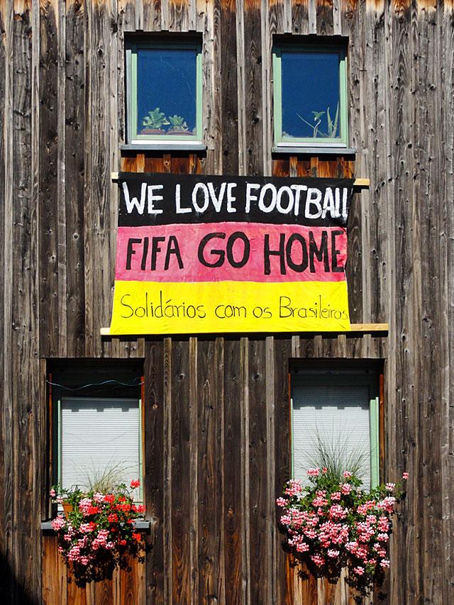 We love Football, FIGA go Home.