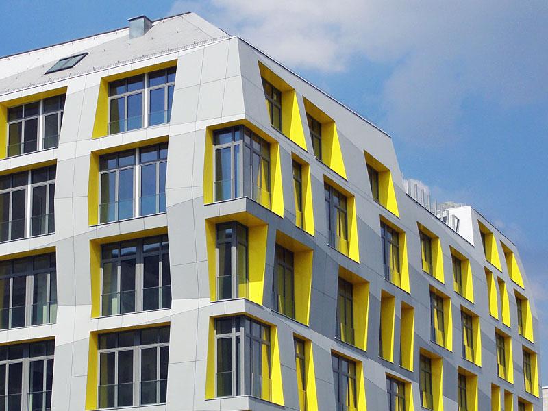 Einfach nur ein weiterer Neubau in Frankfurt.