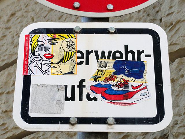 FSV Frankfurt Fan-Art von den PUGNATORES