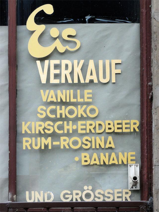 Wie jetzt, kein Ananas-Petersilie- oder Prosecco-Kürbis-Ingwer-Eis?