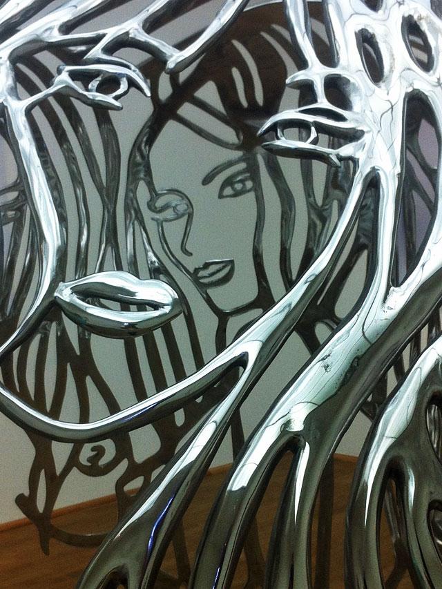 Letzte Ausstellung vor dem Umbau im Museum für Moderne Kunst in Frankfurt.