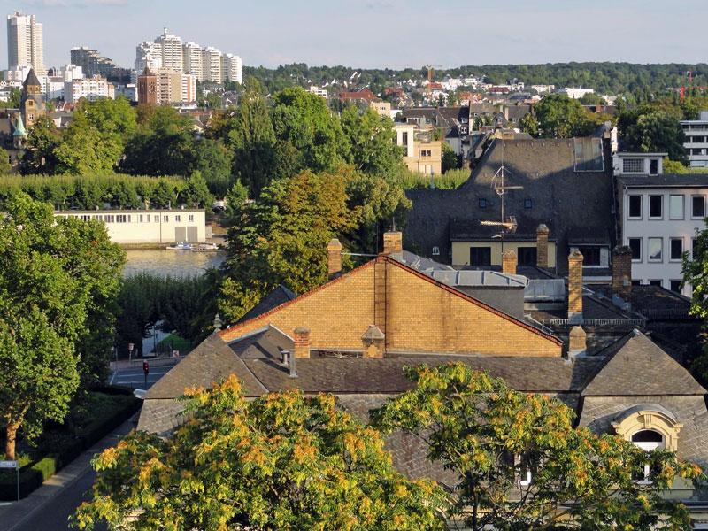 """Bissi Backyard-Flair, bissi Grünzeugs und """"die andere Skyline"""" in Frankfurt, nech?"""