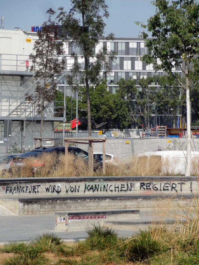 Frankfurt wird von Kanninchen regiert! - © www.stadtkindfrankfurt.de