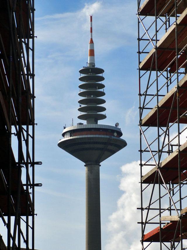 Wenn es keine Baustelle ist, ist es nicht Frankfurt.