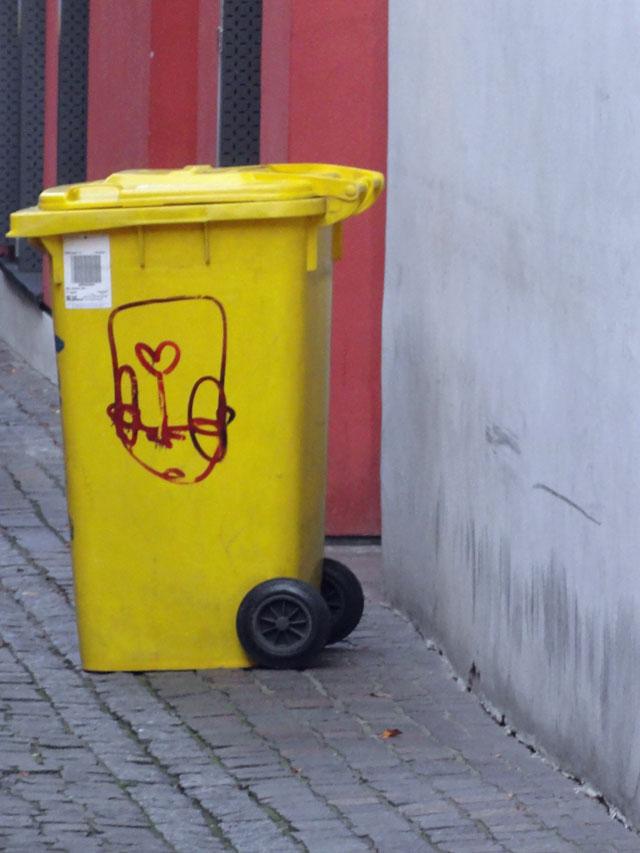 TRASHCAN-STREET ART HEIDELBERG