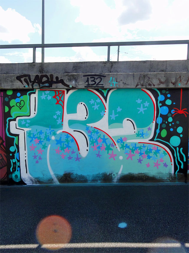 GRAFFITI IN FRANKFURT - HALL OF FAME RATSWEGKREISEL - AUGUST 2014 - 132