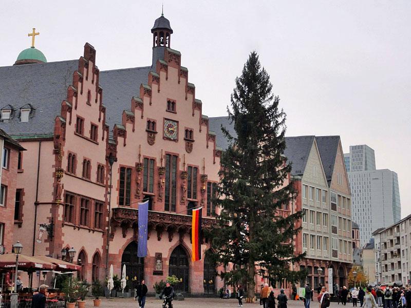 Frankfurter Weihnachtsbaum 2014