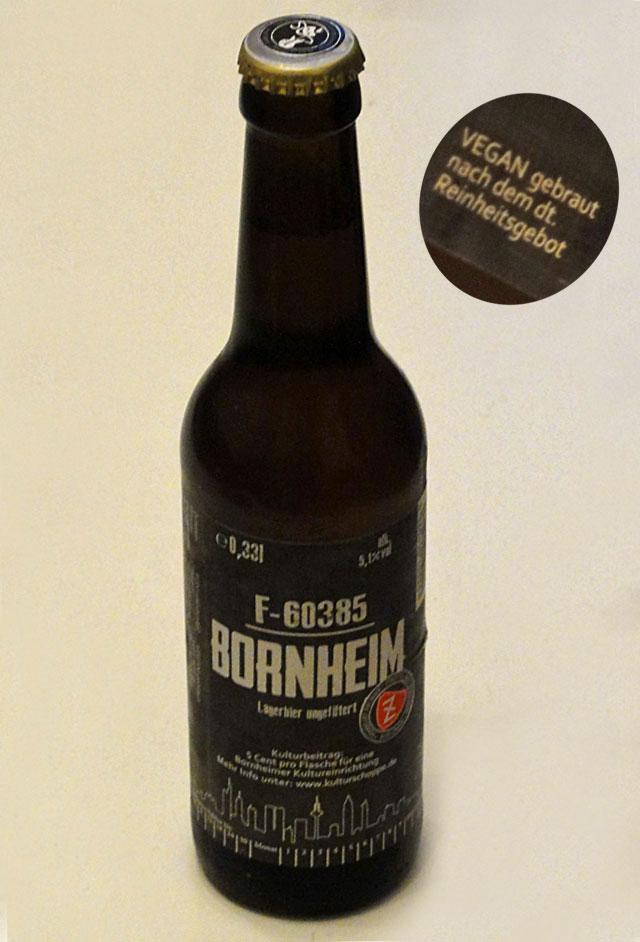 Das vegane Bornheim-Bier ist da!