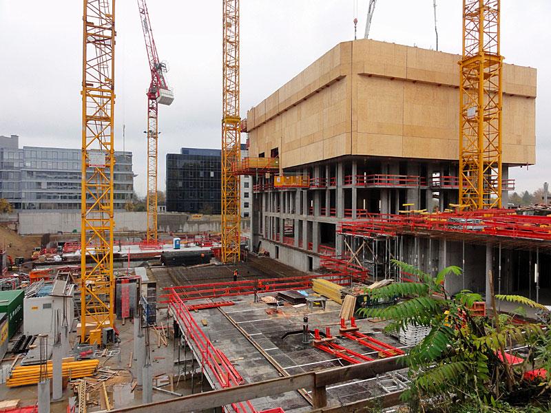 Baustellen in Frankfurt: Der neue Henninger Turm