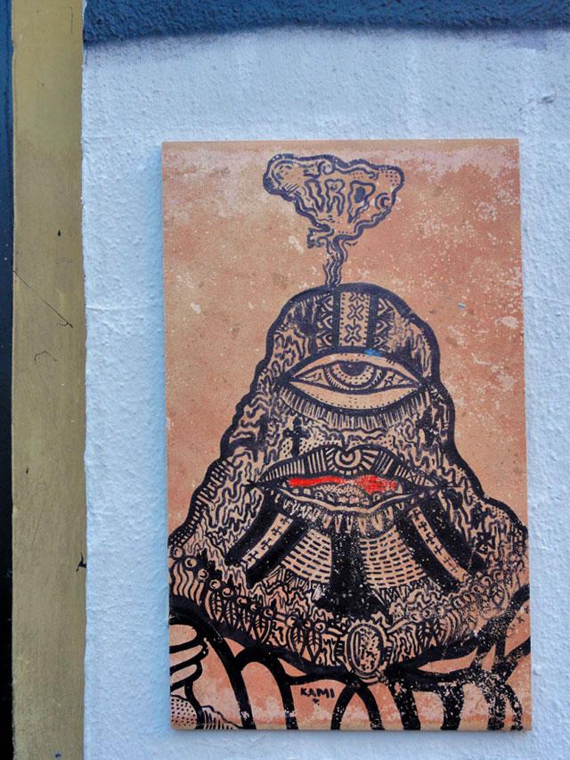Streetart & Graffiti in Frankfurt am Main (10/2014)