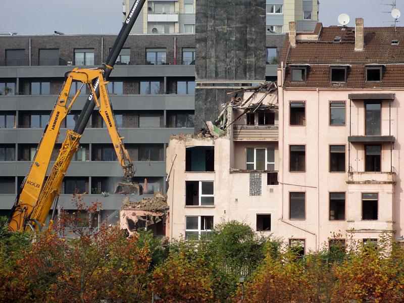 Baustellen in Frankfurt: SUDFASS