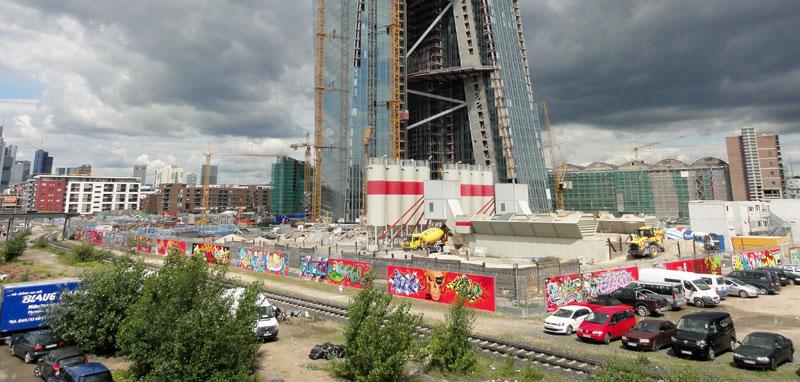 Under Art Construction, Frankfurt 2012