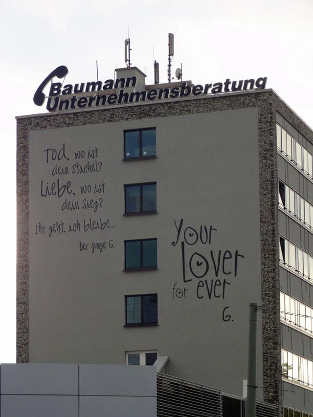Ihr geht, ich bleibe - Bilder der Stadt (10/2014), Frankfurt am Main
